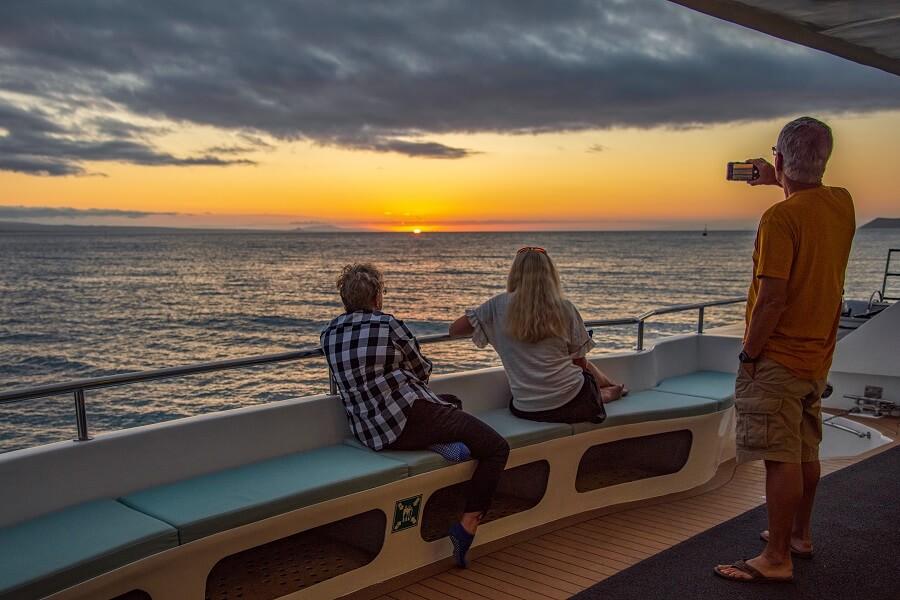 Small cruises are pleasant? - Ecuador and Galapagos News